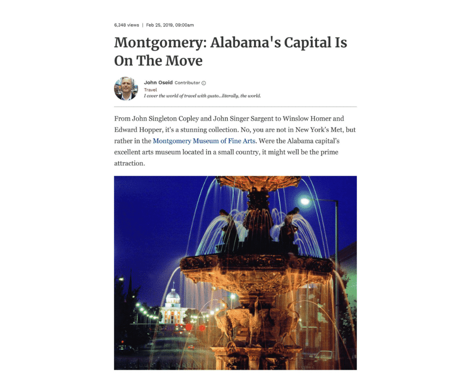 Montgomery: Alabama's Capital Is On The Move